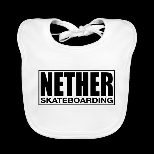 Nether Skateboarding T-shirt White - Bavaglino ecologico per neonato