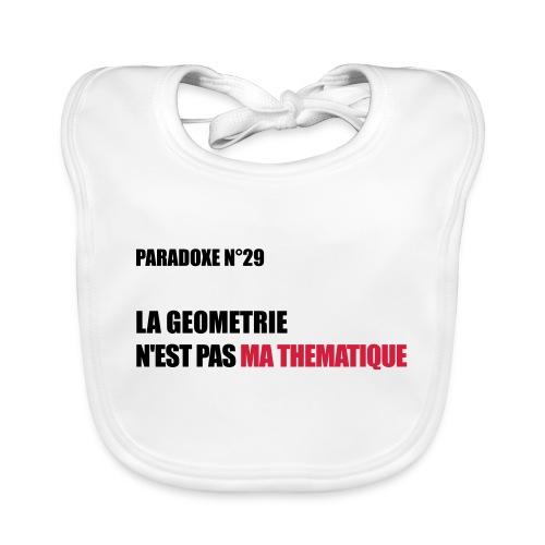 PARADOXE geometrie - Bavoir bio Bébé