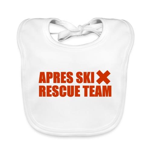 apres-ski rescue team - Baby Organic Bib