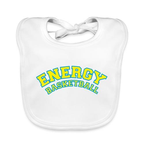 eco logo energy basketball giallo - Bavaglino ecologico per neonato