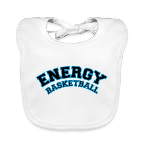 baby energy basketball logo nero - Bavaglino ecologico per neonato