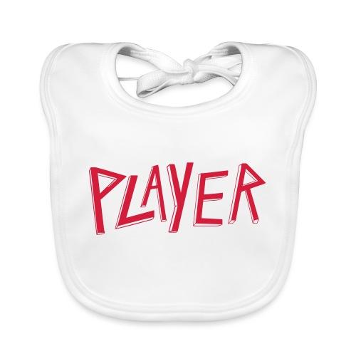 player Slayer - Bavoir bio Bébé