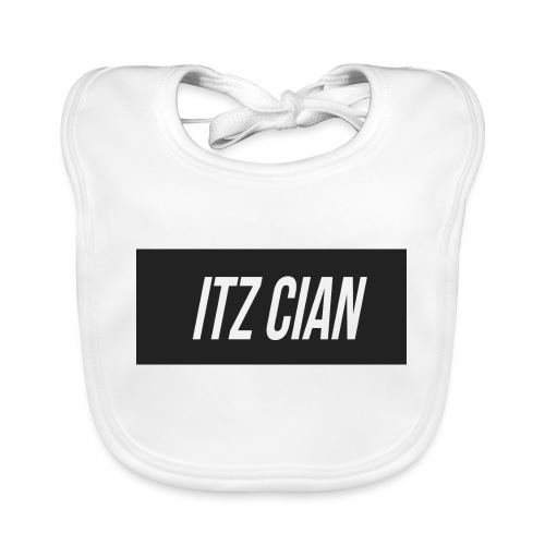 ITZ CIAN RECTANGLE - Organic Baby Bibs