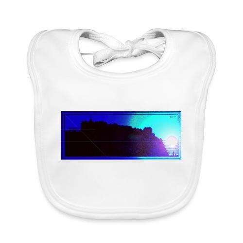 Silhouette of Edinburgh Castle - Organic Baby Bibs