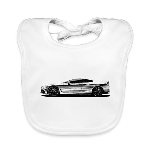 serie 8 Concept car - Babero de algodón orgánico para bebés