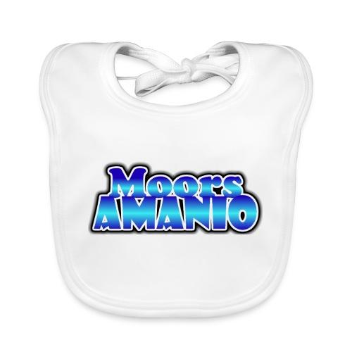 MoorsAmanioLogo - Bio-slabbetje voor baby's