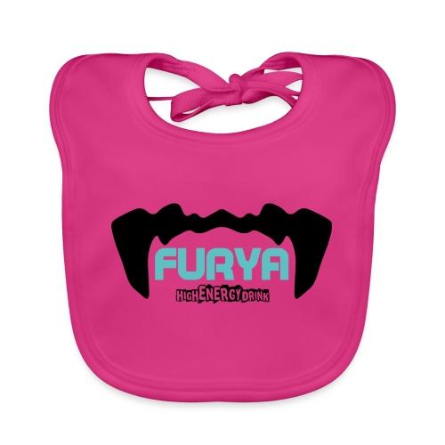Logo Furya NOIR - Bavoir bio Bébé