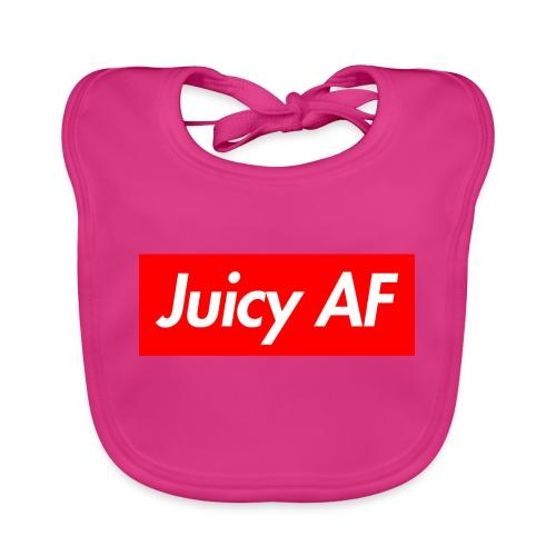 Juicy AF Front - Baby Bio-Lätzchen