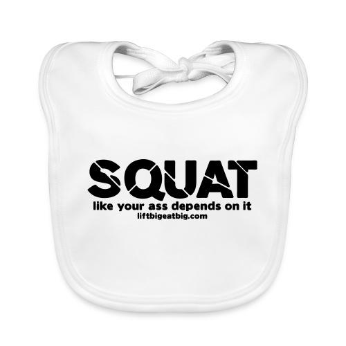 squat - Baby Organic Bib
