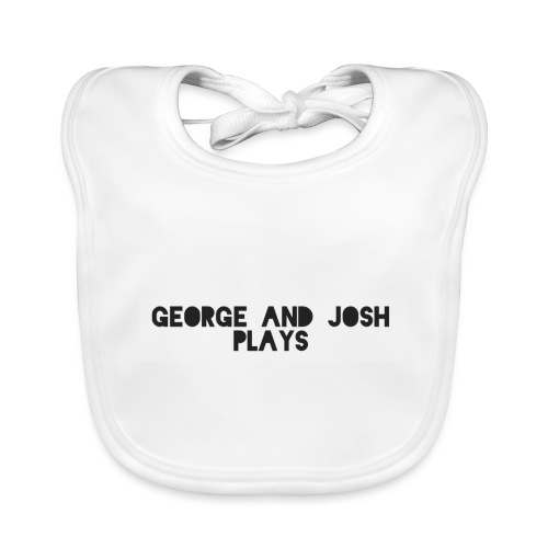 George-and-Josh-Plays-Merch - Baby Organic Bib