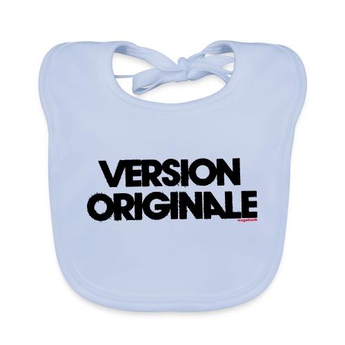 Version Original - Bavoir bio Bébé