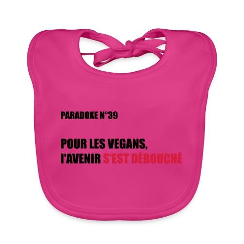 PARADOXE vegan - Bavoir bio Bébé