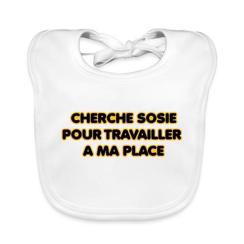 cherche_sosie2 - Bavoir bio Bébé
