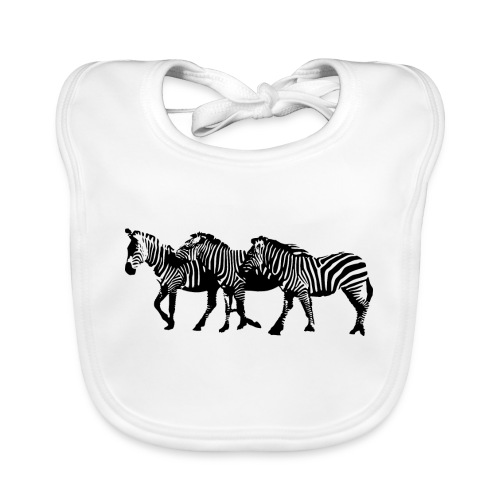 zebre - Bavoir bio Bébé