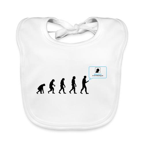 Evolution Réseaux sociaux - Bavoir bio Bébé