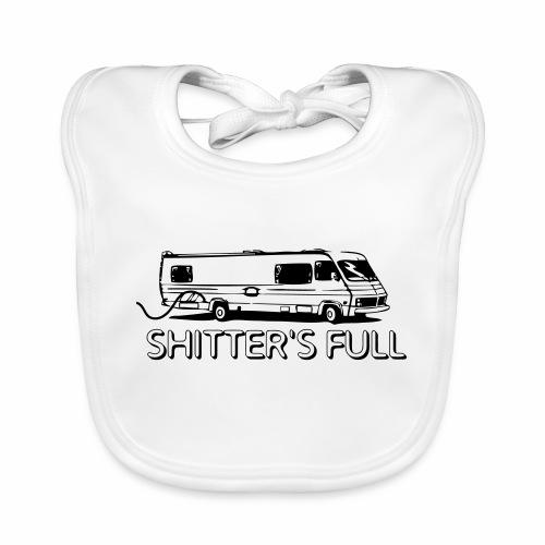 shitters full - Bavaglino ecologico per neonato