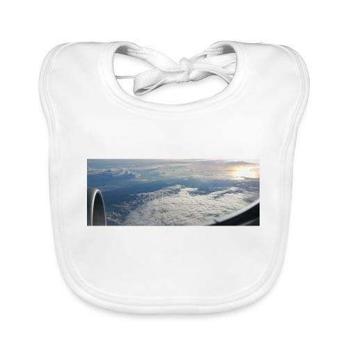 Flugzeug Himmel Wolken Australien - 2. Motiv - Baby Bio-Lätzchen