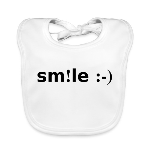 smile - sorridi - Bavaglino