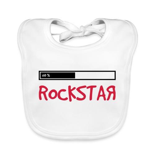 rock_star 50 - Baby Bio-Lätzchen