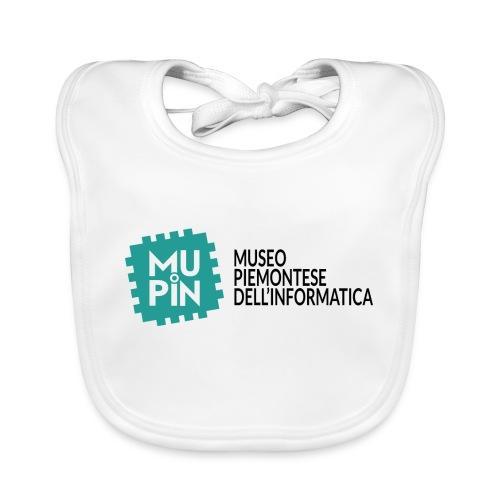 Logo Mupin con scritta - Bavaglino ecologico per neonato