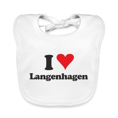 I Love Langenhagen - Baby Bio-Lätzchen