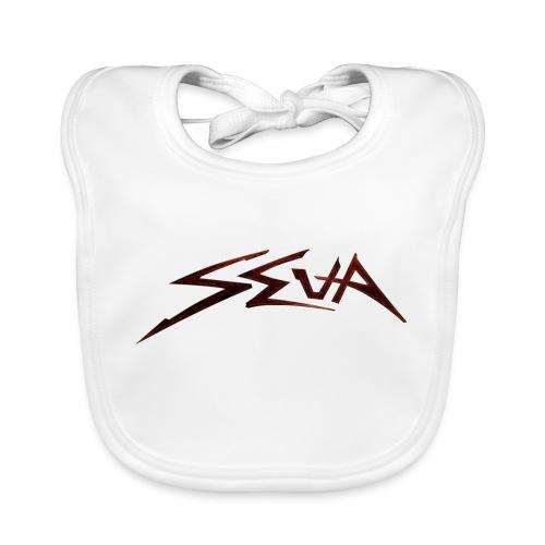 SEUA logo Speedy original design - Ekologisk babyhaklapp