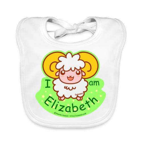 I am Elizabeth - Organic Baby Bibs