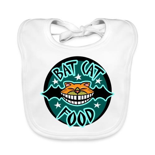 Bat Cat Food - Baby Organic Bib
