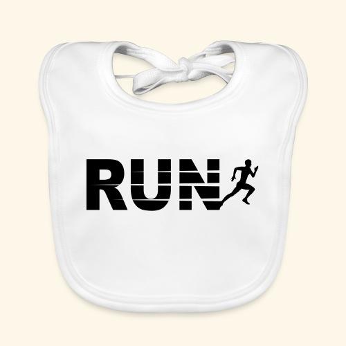 Run, course à pied - Bavoir bio Bébé