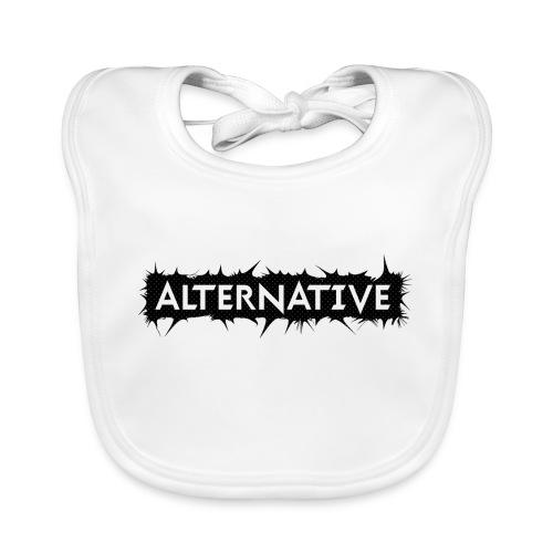 Spike T-shirt White - Ekologiczny śliniaczek