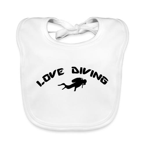 love diving - Baby Bio-Lätzchen