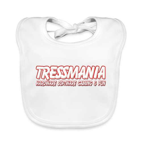 Tres Mania Logo - Baby Organic Bib