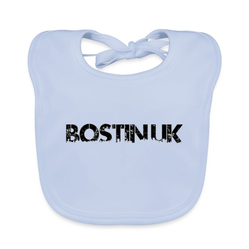 Bostin uk white - Baby Organic Bib