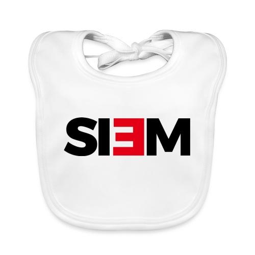 siem_zwart - Bio-slabbetje voor baby's
