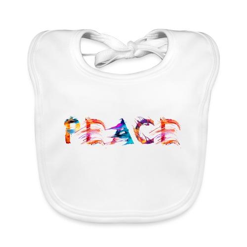 Peace - Bavoir bio Bébé