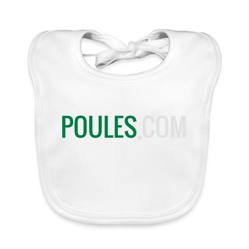 Poules-com - Bio-slabbetje voor baby's