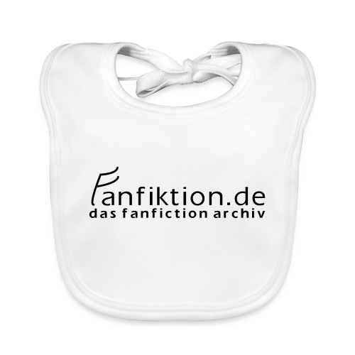 FanFiktion de Schriftzug - Baby Bio-Lätzchen