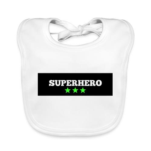 Lätzchen Superhero - Baby Bio-Lätzchen