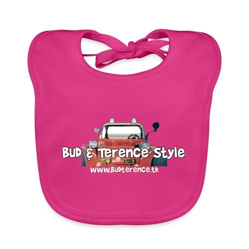Bud & Terence Style - Bavaglino ecologico per neonato