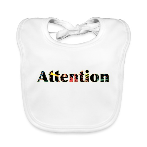 Attention - Organic Baby Bibs