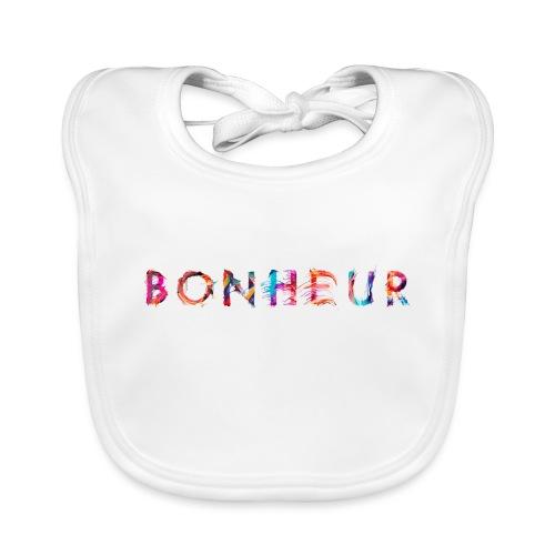 Bonheur - Bavoir bio Bébé