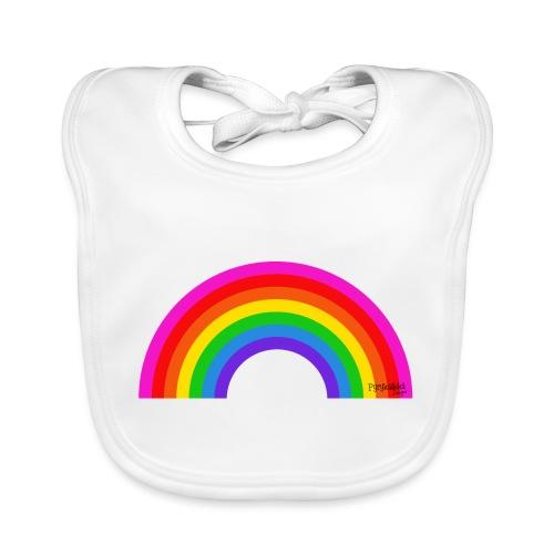 Rainbow - Vauvan luomuruokalappu