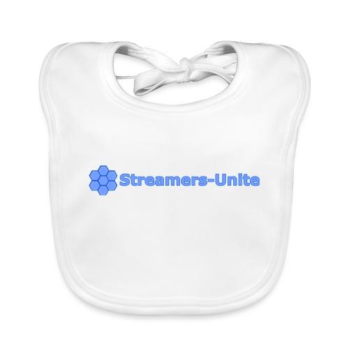 Streamers-Unite -Team logo - Bio-slabbetje voor baby's
