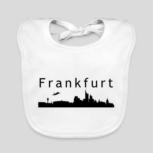 Frankfurt M Skyline - Baby Bio-Lätzchen
