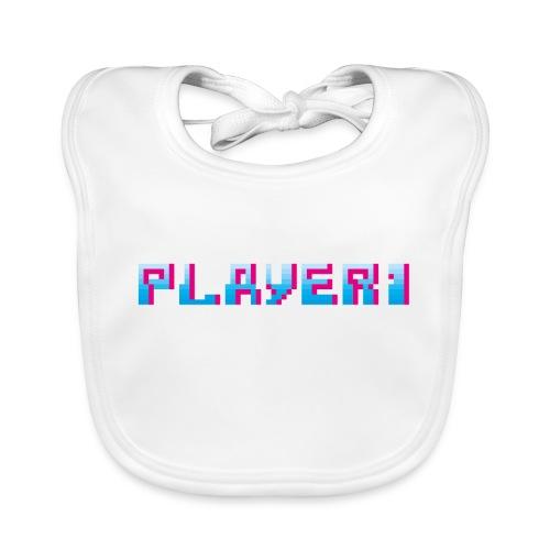 Arcade Game - Player 1 - Organic Baby Bibs