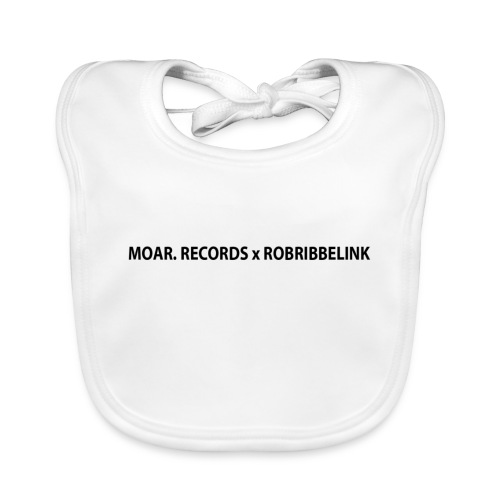 MOAR. Records x RobRibbelink phone case - Baby Organic Bib