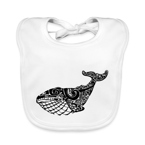 The Blue Whale - Organic Baby Bibs