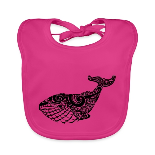 The Blue Whale - Baby Organic Bib