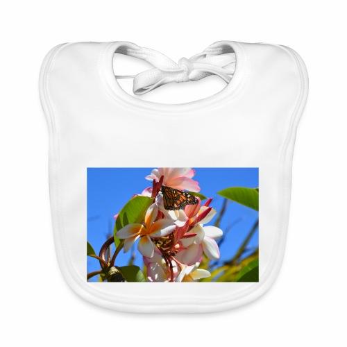 Schmetterling - Baby Bio-Lätzchen