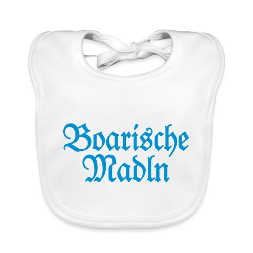 Boarische Madln (Blau) Bayern Mädels Frauen - Baby Bio-Lätzchen